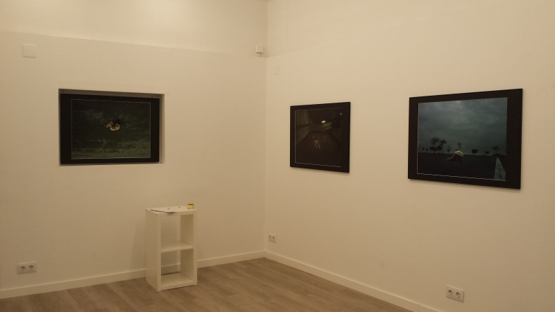 "Projekteria - Exhibition ""Sounds of Our Suffocation"" Anna Bresolí"