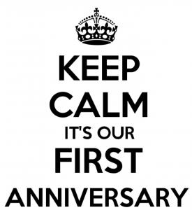 Projekteria first anniversary